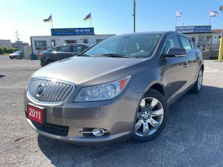 Used 2011 Buick LaCrosse CXL for sale in Whitby, ON