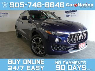 Used 2018 Maserati Levante GRANLUSSO | AWD | LEATHER | PANO ROOF | NAV | RARE for sale in Brantford, ON