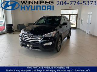Used 2016 Hyundai Santa Fe Sport PREMIUM - Hands free smart trunk, Heated seats, Leather seating for sale in Winnipeg, MB