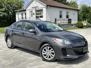 Used 2012 Mazda MAZDA3 No-Accidents LOW KMS GS Sky Sunroof Bluetooth Power Group for sale in Sutton, ON