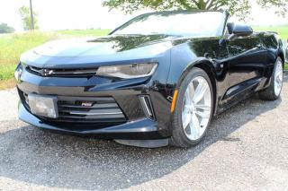 Used 2017 Chevrolet Camaro 2LT Convertible for sale in New Hamburg, ON