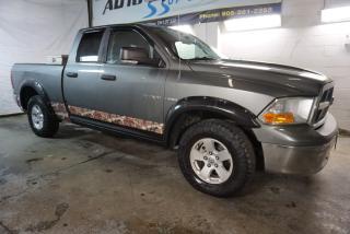 Used 2009 Dodge Ram 1500 SLT HEMI 4x4 SUPER CREW CERTIFIED 2YR WARRANTY *1 OWNER* BLUETOOTH CRUISE ALLOYS for sale in Milton, ON