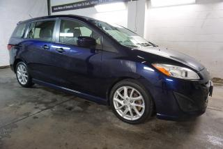 Used 2012 Mazda MAZDA5 GT CAMERA CERTIFIED 2YR WARRANTY *1 OWNER* BLUETOOTH SUNROOF HEATED LEATHER BLUETOOTH ALLOYS for sale in Milton, ON