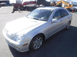 Used 2005 Mercedes-Benz C-Class C240 LUXURY SEDAN for sale in Burnaby, BC