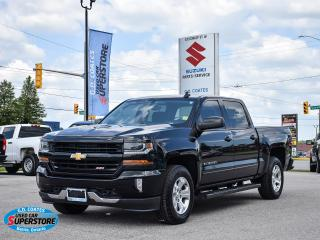 Used 2017 Chevrolet Silverado 1500 LT Z71 Crew Cab 4x4 for sale in Barrie, ON