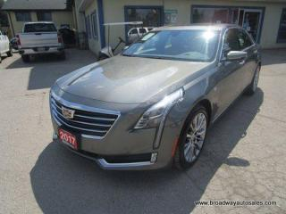 Used 2017 Cadillac CT6 ALL-WHEEL DRIVE LUXURY EDITION 5 PASSENGER 3.6L - TURBO.. NAVIGATION.. LEATHER.. HEATED/AC SEATS.. DUAL SUNROOF.. BACK-UP CAMERA.. for sale in Bradford, ON