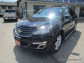 Used 2016 Chevrolet Traverse ALL-WHEEL DRIVE 1-LT EDITION 7 PASSENGER 3.6L - V6.. CAPTAINS.. THIRD ROW.. HEATED SEATS.. BACK-UP CAMERA.. BLUETOOTH.. KEYLESS ENTRY.. for sale in Bradford, ON
