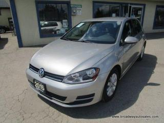 Used 2015 Volkswagen Golf GAS SAVING TSI-EDITION 5 PASSENGER 1.8L - DOHC.. HEATED SEATS.. BLUETOOTH SYSTEM.. CD/USB INPUT.. KEYLESS ENTRY.. for sale in Bradford, ON