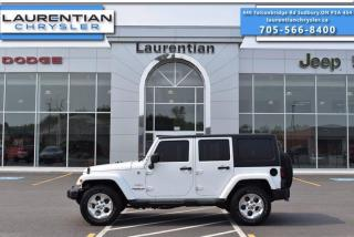 Used 2015 Jeep Wrangler Unlimited Sahara!! for sale in Sudbury, ON