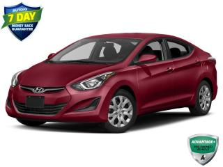 Used 2015 Hyundai Elantra GL | MANUAL | KEYLESS ENTRY | CLOTH SEATING | for sale in Barrie, ON