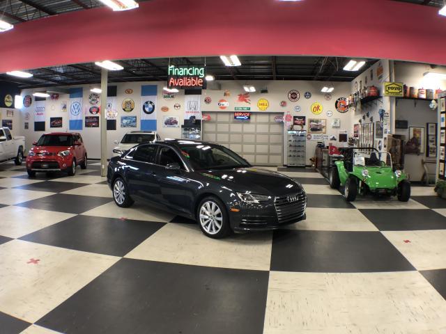 2017 Audi A4 KOMFORT QUATTRO AUTO A/C LEATHER H/SEATS  SUNROOF