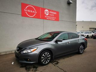 Used 2017 Nissan Altima S/PUSH START/BACK UP CAM for sale in Edmonton, AB