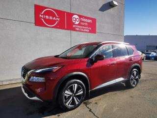 New 2021 Nissan Rogue PLATINUM/AWD/KEYLESS ENTRY/SEAT MEMORY/BLINDSPOT MONITOR for sale in Edmonton, AB