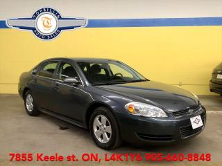 Used 2010 Chevrolet Impala LT 2 Years Power-train Warranty for sale in Vaughan, ON