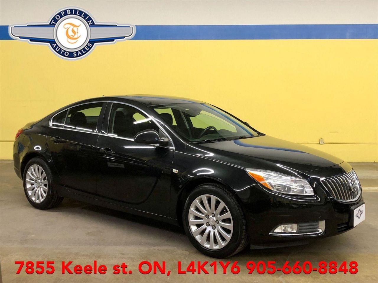 2011 Buick Regal CXL Only 73K km, Leather, Sunroof & more