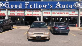 Used 2002 Honda Accord Special Price Offer for LX MODEL for sale in Toronto, ON
