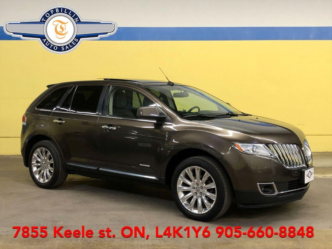 2011 Lincoln MKX Panoramic Roof, Navi, Leather, B-Cam & more