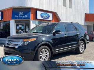Used 2014 Ford Explorer 4WD 4dr XLT 7 PSGR/LEATHER/PRICED-QUICK SALE ! for sale in Brantford, ON