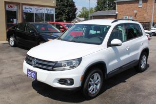 Used 2017 Volkswagen Tiguan Trendline for sale in Brampton, ON