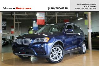 Used 2014 BMW X3 xDrive28i - NAVI|BACKUP|PANOROOF|HEATEDSEATS for sale in North York, ON