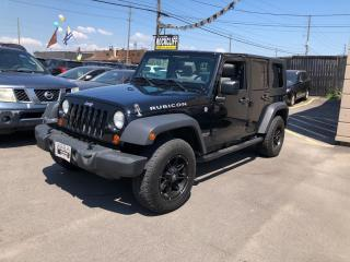 Used 2007 Jeep Wrangler 4WD 4dr Unlimited Rubicon for sale in Scarborough, ON