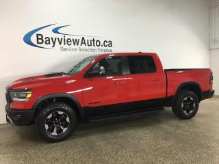 Used 2019 RAM 1500 Rebel - 4X4! 8SPD AUTO! PANOROOF! NAV! 1/2 LEATHER! + MORE! for sale in Belleville, ON