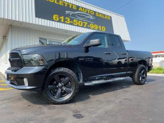 Used 2017 RAM 1500 ST Clean CarFax! 5.7L Hemi! 4X4! Bed Liner! for sale in Kingston, ON