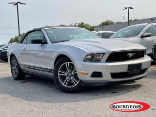 Used 2012 Ford Mustang V6 Premium LEATHER, AUTOMATIC for sale in Midland, ON