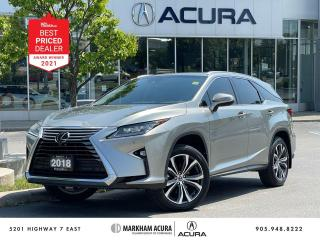 Used 2018 Lexus RX 350 L Luxury Pkg for sale in Markham, ON