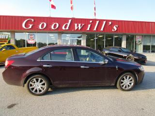 Used 2011 Lincoln MKZ HEATED/ COOLED LEATHER! SUNROOF! for sale in Aylmer, ON