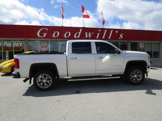 Used 2015 GMC Sierra 1500 SLT! MEMORY SEATS! ADJUSTABLE FOOT PEDALS! for sale in Aylmer, ON