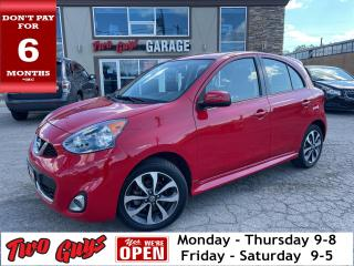 Used 2019 Nissan Micra SR | Auto | Bluetooth | B/Up Cam | Big Radio | for sale in St Catharines, ON