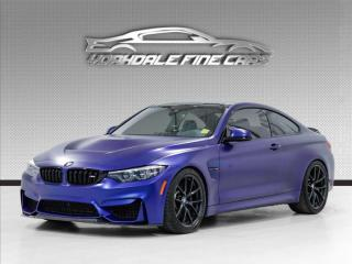 Used 2019 BMW M4 CS Coupe *FROZEN BLUE* *RARE* Clean Car-Fax for sale in Concord, ON