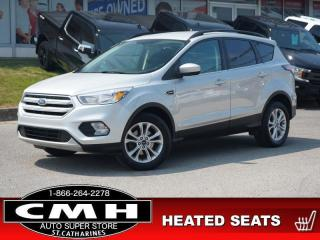 Used 2018 Ford Escape SE  CAM PARK-SENS P/SEAT HTD-SEATS 17-AL for sale in St. Catharines, ON