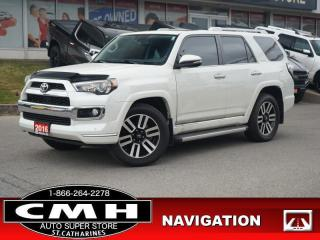 Used 2016 Toyota 4Runner SR5  NAV CAM ROOF LEATH CLD-SEATS 20-AL for sale in St. Catharines, ON