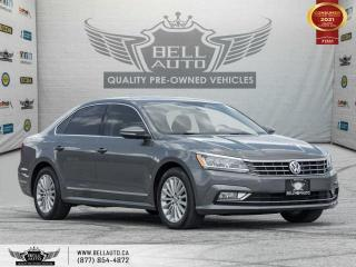 Used 2017 Volkswagen Passat Comfortline, Navi, SunRoof, RearCam, B.spot, Bluetooth for sale in Toronto, ON