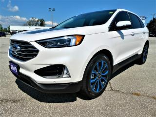 Used 2019 Ford Edge Titanium | Blind Spot Monitor | Cooled Seats | Navigation for sale in Essex, ON