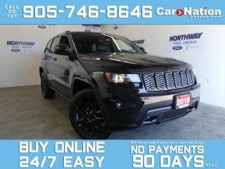 Used 2019 Jeep Grand Cherokee ALTITUDE |4X4 | LEATHER | SUNROOF | NAV |20'' RIMS for sale in Brantford, ON