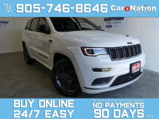 Used 2019 Jeep Grand Cherokee LIMITED X |4X4 | HEMI V8 | PANO ROOF |LEATHER |NAV for sale in Brantford, ON