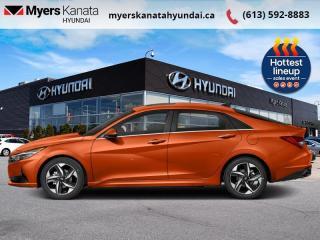 New 2022 Hyundai Elantra Ultimate Tech  - $212 B/W for sale in Kanata, ON