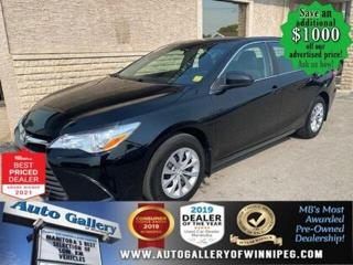 Used 2017 Toyota Camry LE* Bluetooth/Reverse Camera/Automatic for sale in Winnipeg, MB