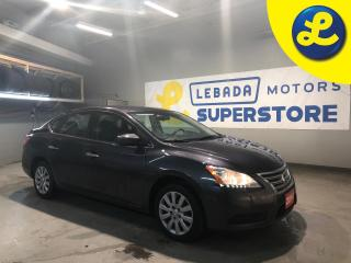 Used 2014 Nissan Sentra SV * Heated Cloth Seats * Eco Mode * Sport Mode * Push Button Start * AM/FM/Aux/USB/iPod * Automatic Drivers Window * Cruise Control * Steering Wheel for sale in Cambridge, ON