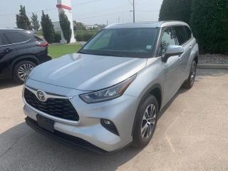 New 2021 Toyota Highlander XLE AWD for sale in Portage la Prairie, MB