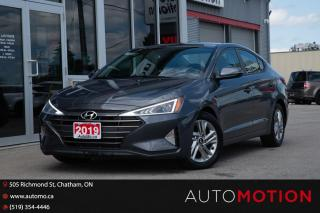 Used 2019 Hyundai Elantra for sale in Chatham, ON