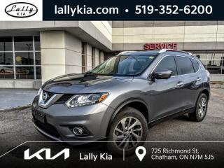 Used 2015 Nissan Rogue AWD SL  #NAV #Sunroof #OneOwner #very clean for sale in Chatham, ON