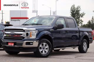 Used 2018 Ford F-150 XLT 4x4, ONE OWNER, CLEAN CARFAX, BLUETOOTH, BACK-UP CAMERA for sale in Orangeville, ON
