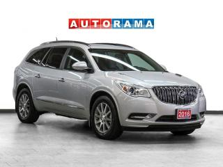 Used 2016 Buick Enclave AWD Navigation leather PanoRoof Backup Cam for sale in Toronto, ON