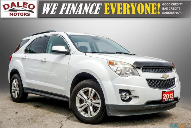 2013 Chevrolet Equinox LT / AWD /  BACK UP CAM / ROOF LUGGAGE Photo1