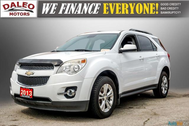 2013 Chevrolet Equinox LT / AWD /  BACK UP CAM / ROOF LUGGAGE Photo4