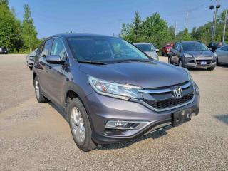 Used 2016 Honda CR-V SE W/HEATED SEATS, ALLOY WHEELS, BACKUP CAMERA for sale in Huntsville, ON